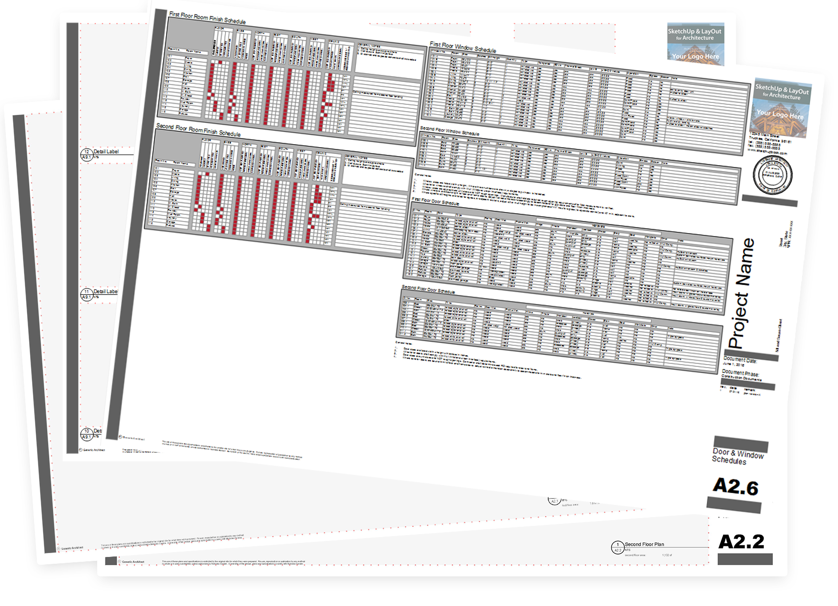 Sketchup Layout For Architecture Book The Step By Workflow Sample Of Electrical Plan Resources Included With Each